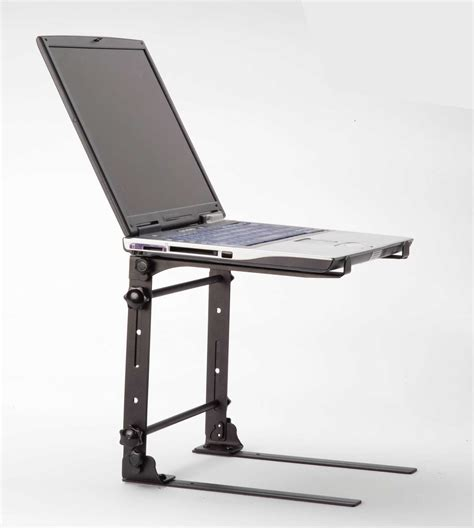 stand for desk standing laptop desk stand with fan decofurnish