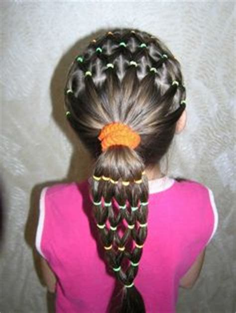 hairstyles using rubber bands rubber bands swimming and hairstyles on pinterest