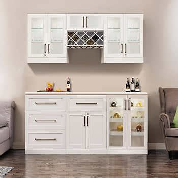 kitchen home bar products home wine bar 7 cabinetry set by newage products