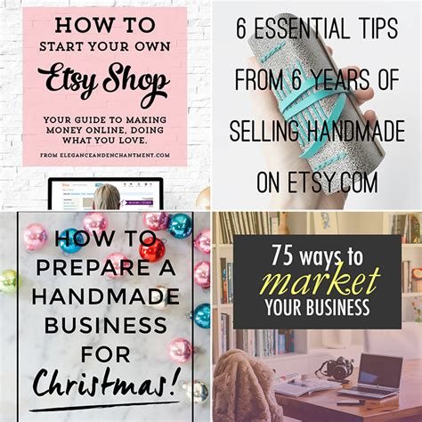 How To Start Selling Handmade Items - handmade business tips the market