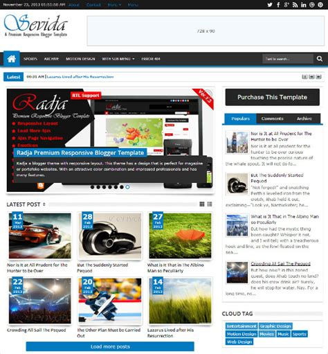 professional templates for blogger free 44 professional blog themes templates free premium