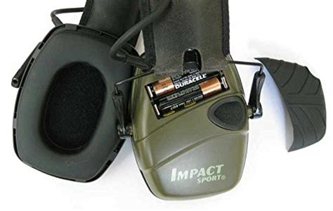 Howard Leight Shooting Combo Earmuffs Glasses Green R 01761 howard leight r 01526 od olive drab green impact sport electronic battery operated audio