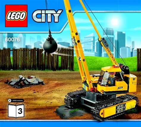 Demolition Site Lego 60076 City lego demolition site 60076 city