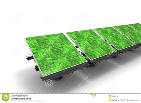 green solar panels royalty free stock images image 7688919