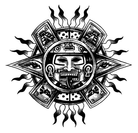 mayan tribal tattoo mayan designs easy to do at home nail designs