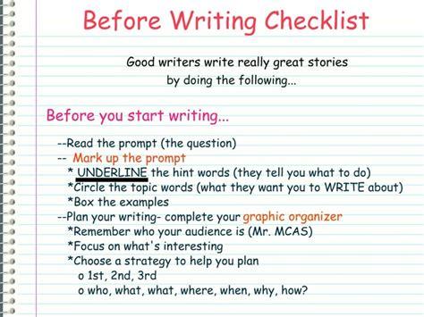 How Do You Write A Personal Narrative Essay by Before You Write Writing A Personal Narrative