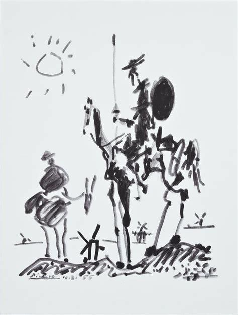 picasso paintings don quixote after pablo picasso 1881 1973 quot don quixote quot 20th