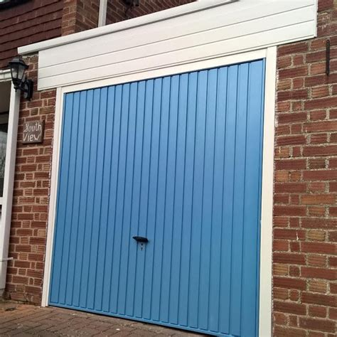 blue garage door pastel blue gemini up garage door in wantage elite gd