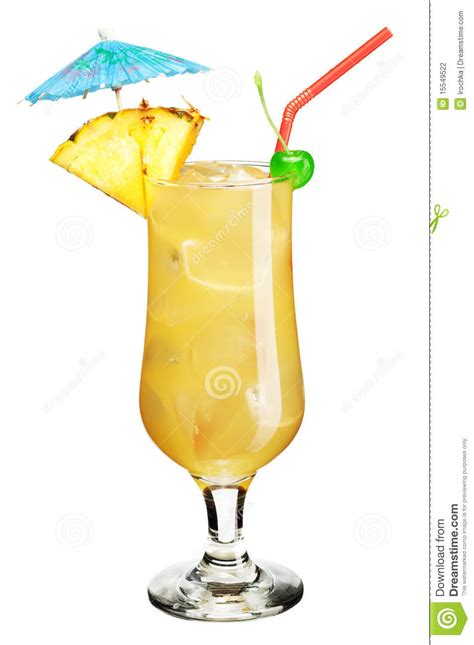 umbrella drink cocktail with umbrella stock photography image 15549522