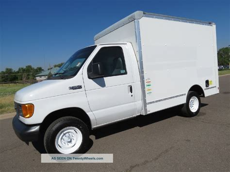 truck van 2005 ford e350 service utility work van delivery box truck