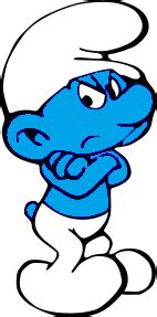 grumpy smurf pictures the smurfs grouchy smurf why because i like it
