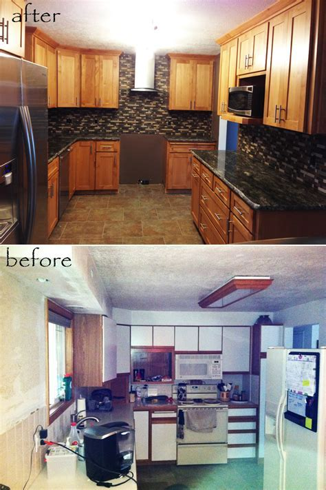Before and After Kitchen ? Toliy'S tile installation, We