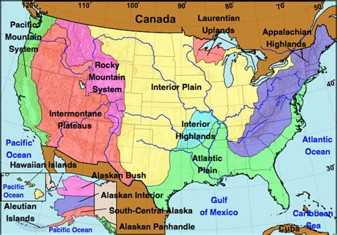 geographic regions of the united states map 8 geographic regions of the united states pictures to pin