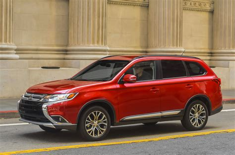 mitsubishi outlander 2016 review 2016 mitsubishi outlander review