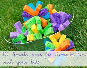 To do with the kids this summer 10 simple ideas inner child fun