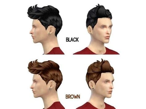 sims 4 hairstyles mods 7 best ts4 male hairstyles images on pinterest male
