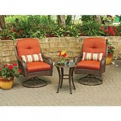 3 outdoor patio set better homes and gardens azalea ridge 3 outdoor