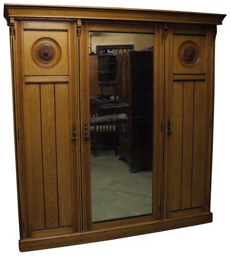 Used Wardrobe by Antiques Bazaar Dressing Tables Large 3 Door Mirror