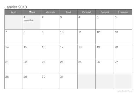 Calendrier 2016 Vierge à Remplir Calendrier Jours Feries 2013 Par Mois