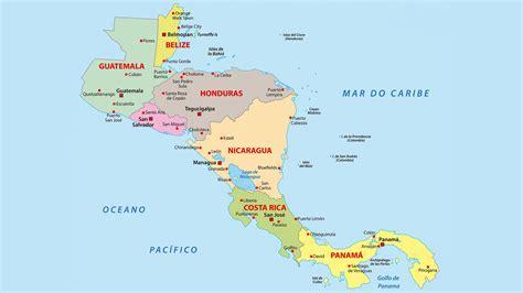 mapa politico de america imagenes america central mapa