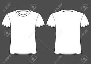 White T Shirt Template Front And Back by Polo Shirt Template Clip 64