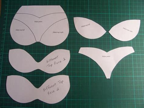 bra template for cards crafts and cut outs on
