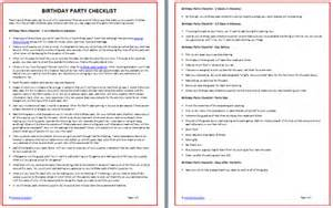 printable birthday party checklist free moms amp munchkins