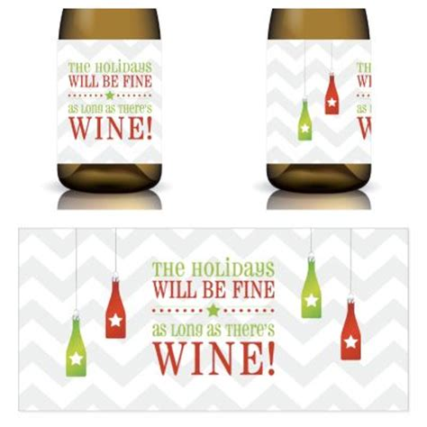 printable christmas wine labels 275 best christmas for wine lovers images on pinterest