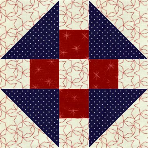 The Quilt Block by Churn Dash Quilt Block Lc S Cottage