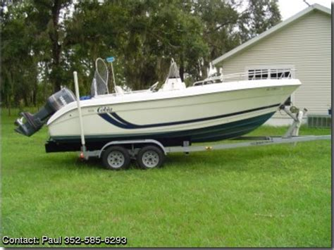 cobia boats for sale by owner 1999 cobia 204 cc by owner boat sales