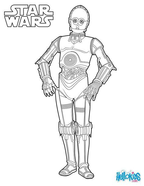 c3po star wars coloring pages hellokids com