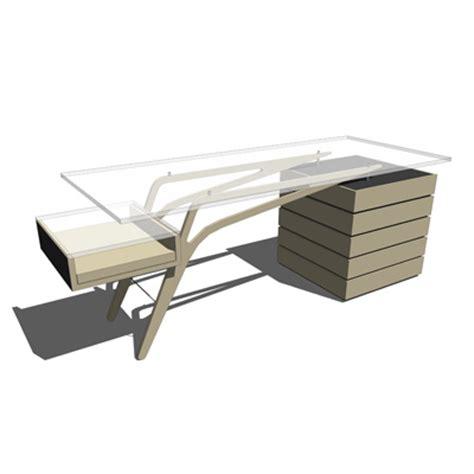 designer office desks 3d model formfonts 3d models