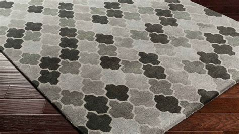 pattern area rugs tufted brilliance area rug light gray gray pattern zuri furniture