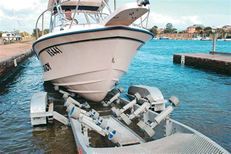 boat trailer rollers or skids trade a boat s ultimate guide to boat trailers