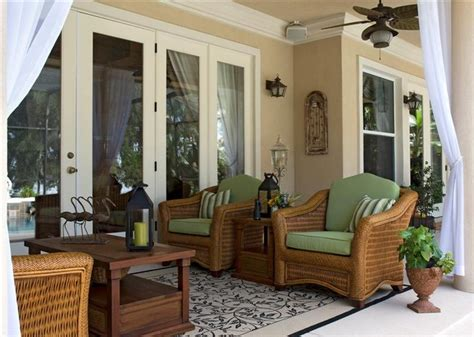 Lanai Patio Designs How To Decorate A Small Screened In Lanai Studio Design Gallery Best Design