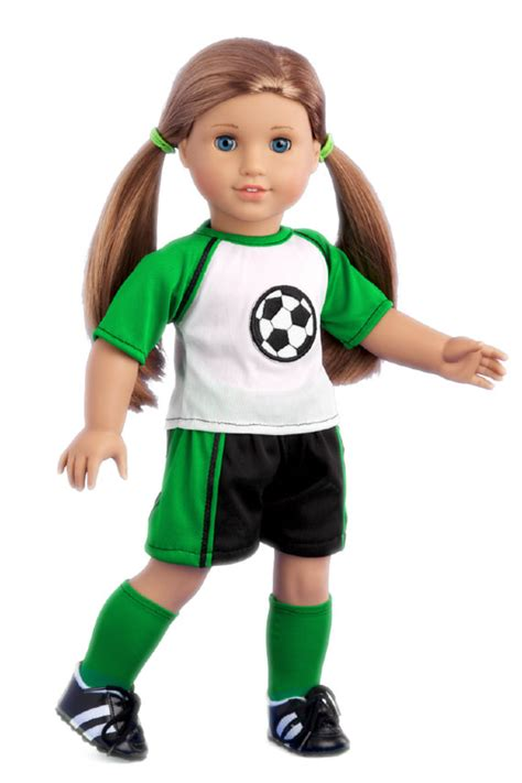 soccer doll clothes for 18 inch american doll 4