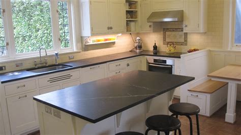 Soapstone Kitchen Countertops Soapstone Counters Traditional Kitchen Seattle