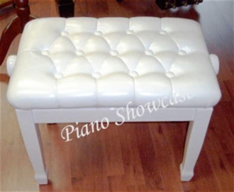white piano bench canada white adjustable piano bench