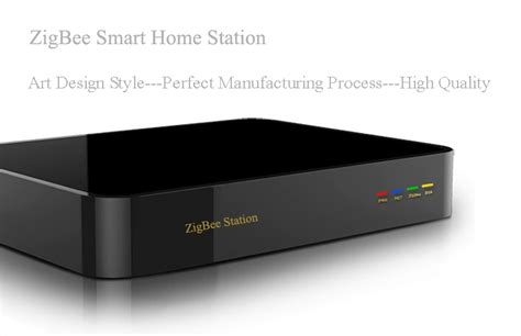 zigbee smart home automation gateway in remote