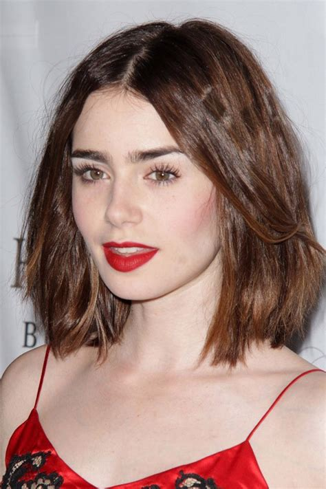 lizly hairstile lily collins hairstyles hair colors steal her style