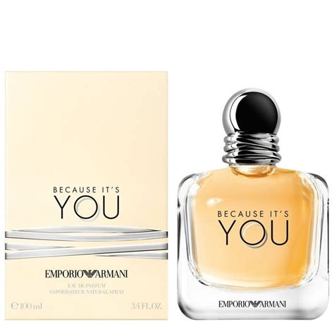 The Perfumes You Only You See In by Emporio Armani Because It S You Edp 100ml