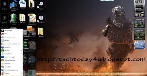 Download Theme Windows 7 Call Of Duty Modern Warfare 3 | call of duty modern warfare 2 windows 7 aero themes your