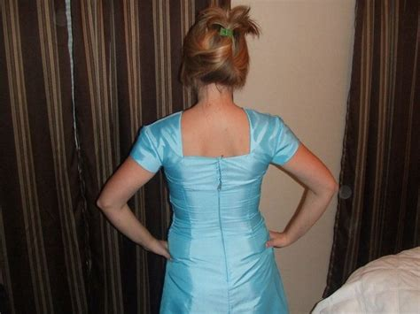 how to build up a strapless dress sewing dresses