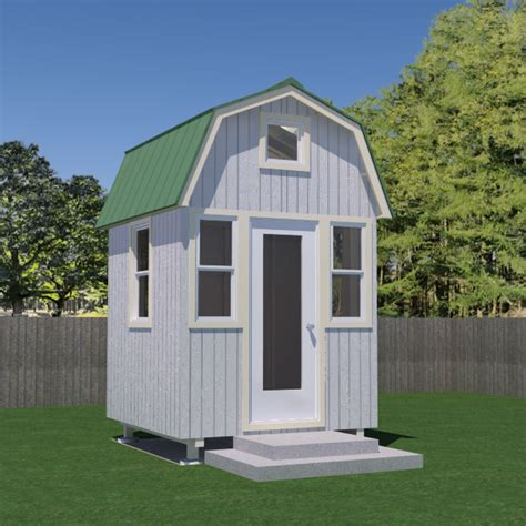 micro home designs micro gambrel plans