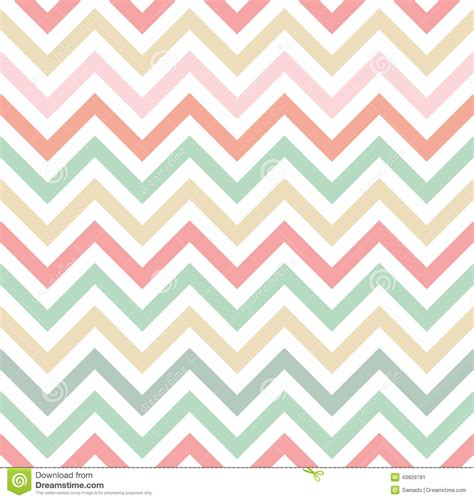 Chevron Pattern Pastel Colors | pastel colored chevron pattern stock vector image 43609781