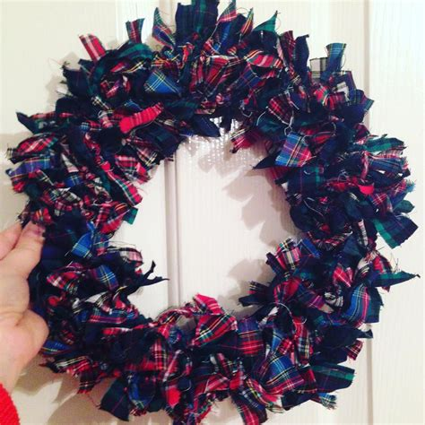 rag wreath how to make a rag wreath for 163 5