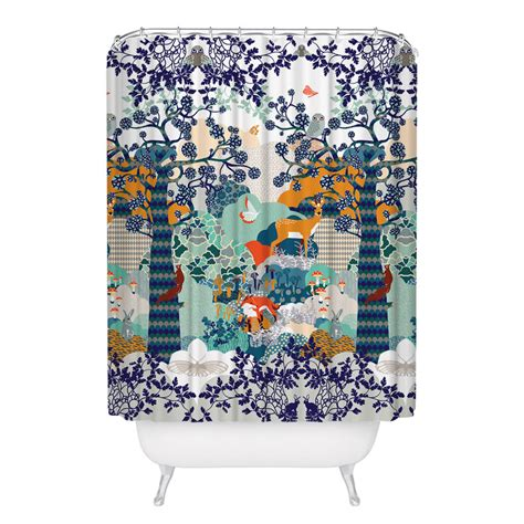winter shower curtain cecilia pettersson winter shower curtain fab
