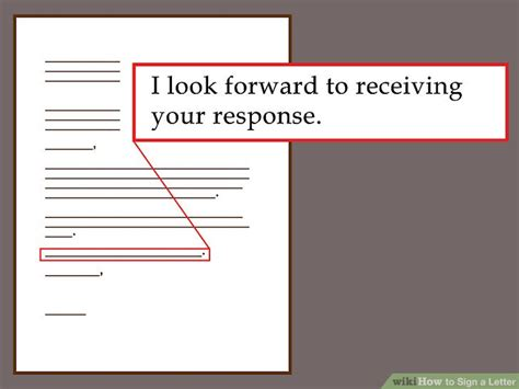 How To Sign A Letter In