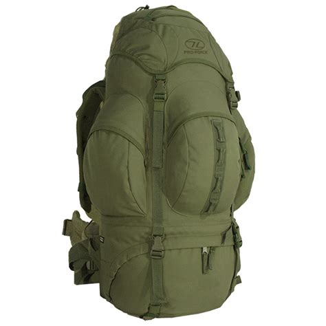 Lomberg Olive Rucksack 1 pro new forces rucksack 66l olive backpacks rucksacks 1st