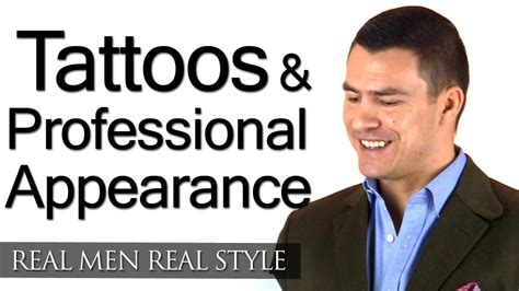 tattooed professionals tattoos professional business appearance be wary of